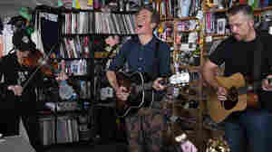 Josh Ritter With Amanda Shires And Jason Isbell: Tiny Desk Concert
