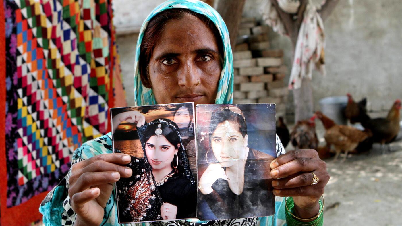 Brother Of Slain Pakistani Social Media Star Gets Life For Her Murder - NPR
