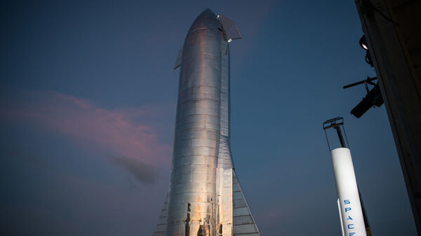 A prototype of SpaceX