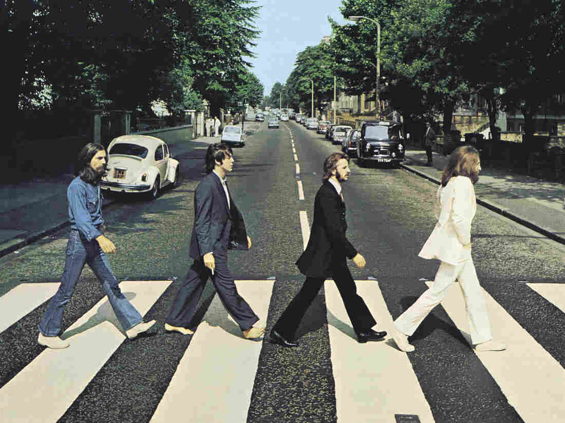 The iconic cover art for Abbey Road