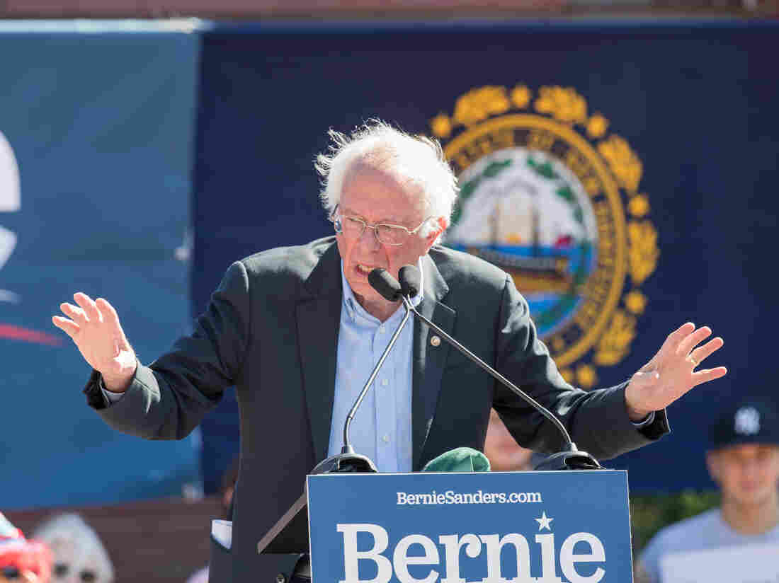 Senator Bernie Sanders hospitalsed after experiencing chest pains