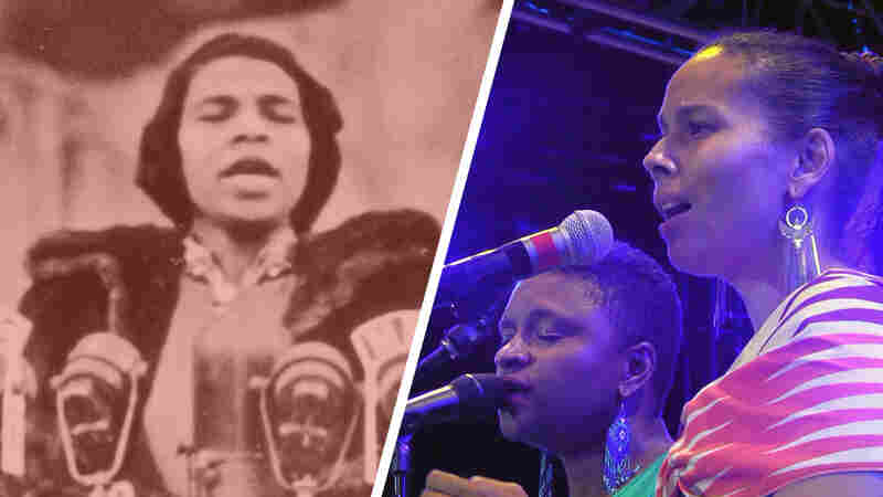 Watch Rhiannon Giddens And Lizz Wright Perform A Tribute To Marian Anderson