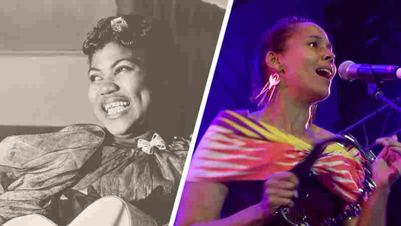 Watch Rhiannon Giddens Perform 'Up Above My Head' In Honor Of Rosetta Tharpe