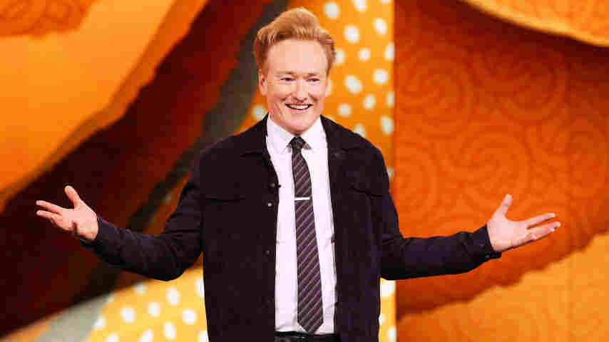 'Conan O'Brien Needs A Friend' Is A Joke Name For A Podcast — Sort Of