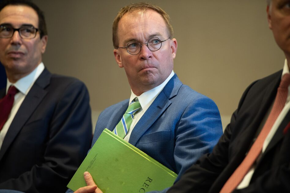 White House Chief of Staff Mick Mulvaney, pictured in September 2019. (Saul Loeb/AFP/Getty Images)