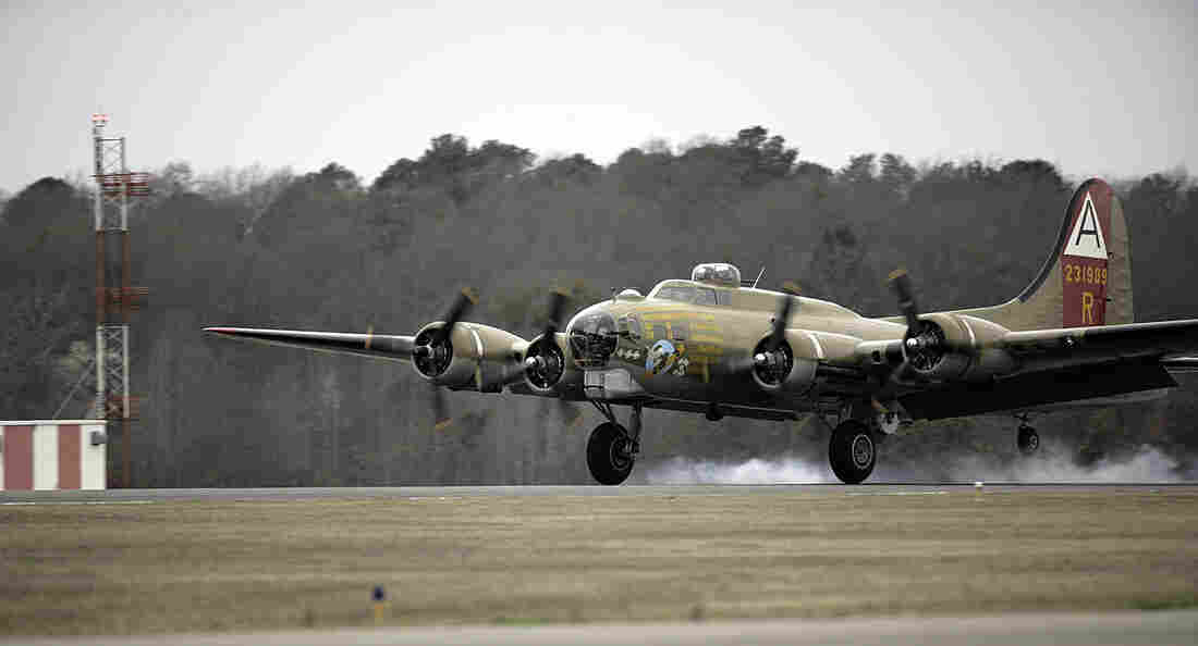 Vintage B-17 bomber crashes while landing at Connecticut airport