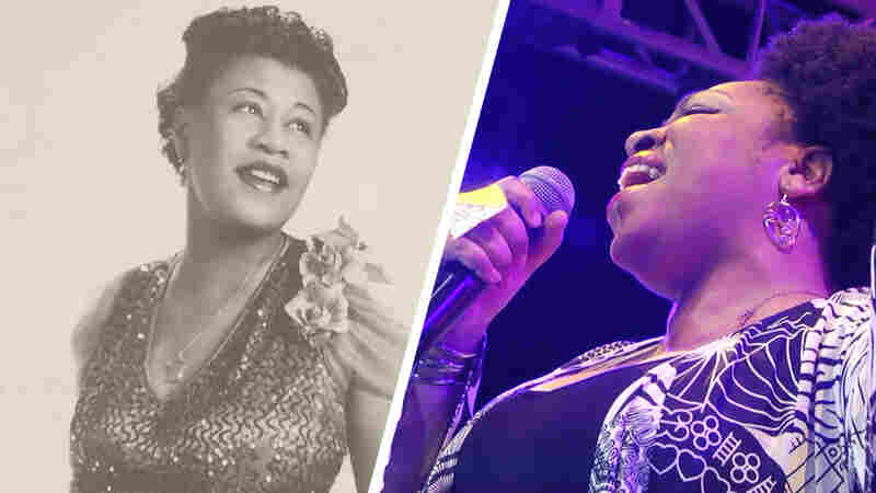 Watch Charenée Wade Perform 'Cotton Tail' In Honor Of Ella Fitzgerald