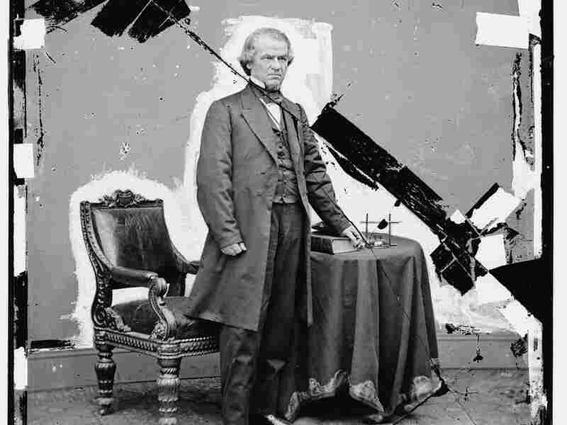 President Andrew Johnson (1865-1869).