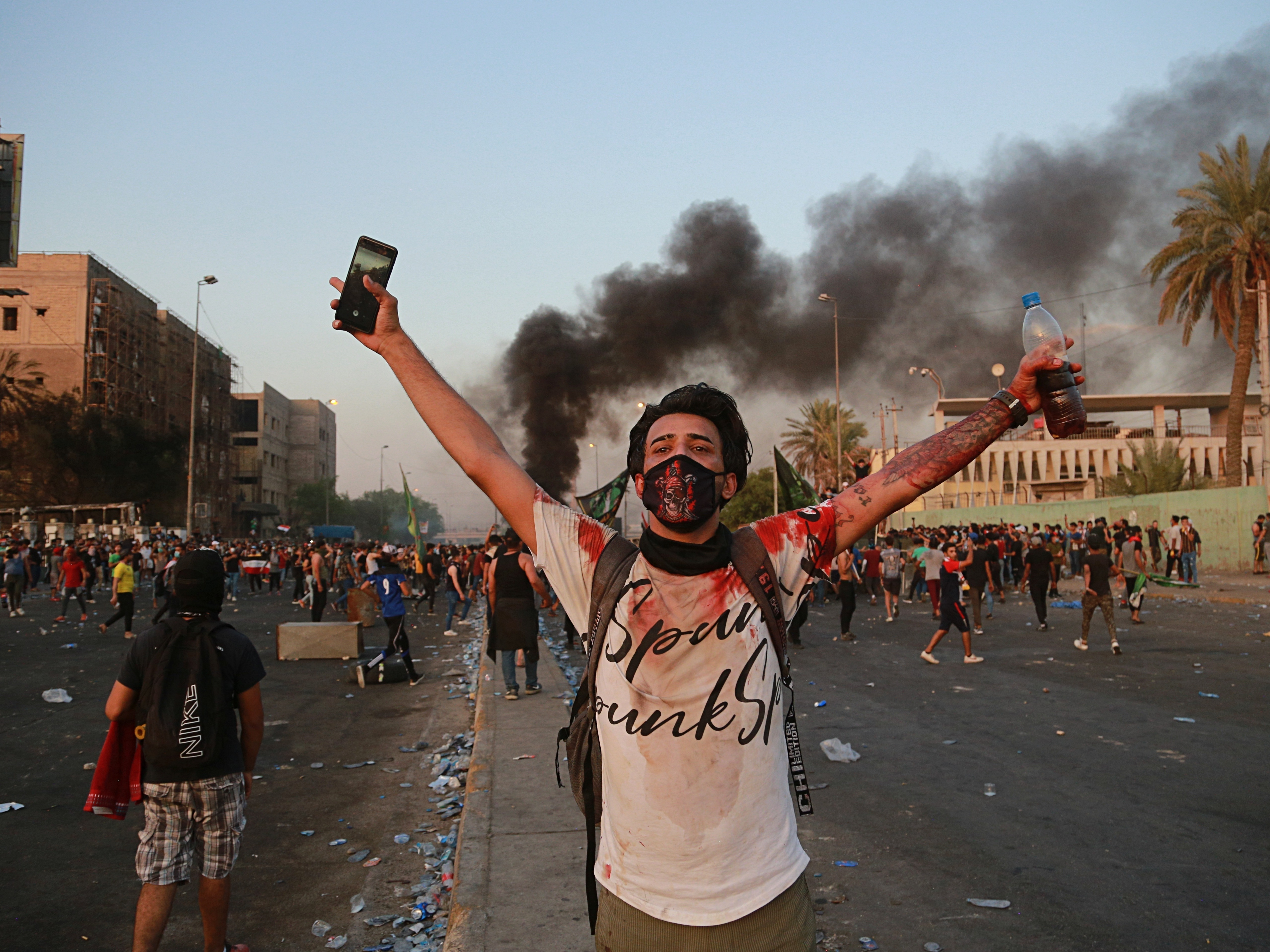 At Least 42 Dead After Days Of Violent Protests In Iraq