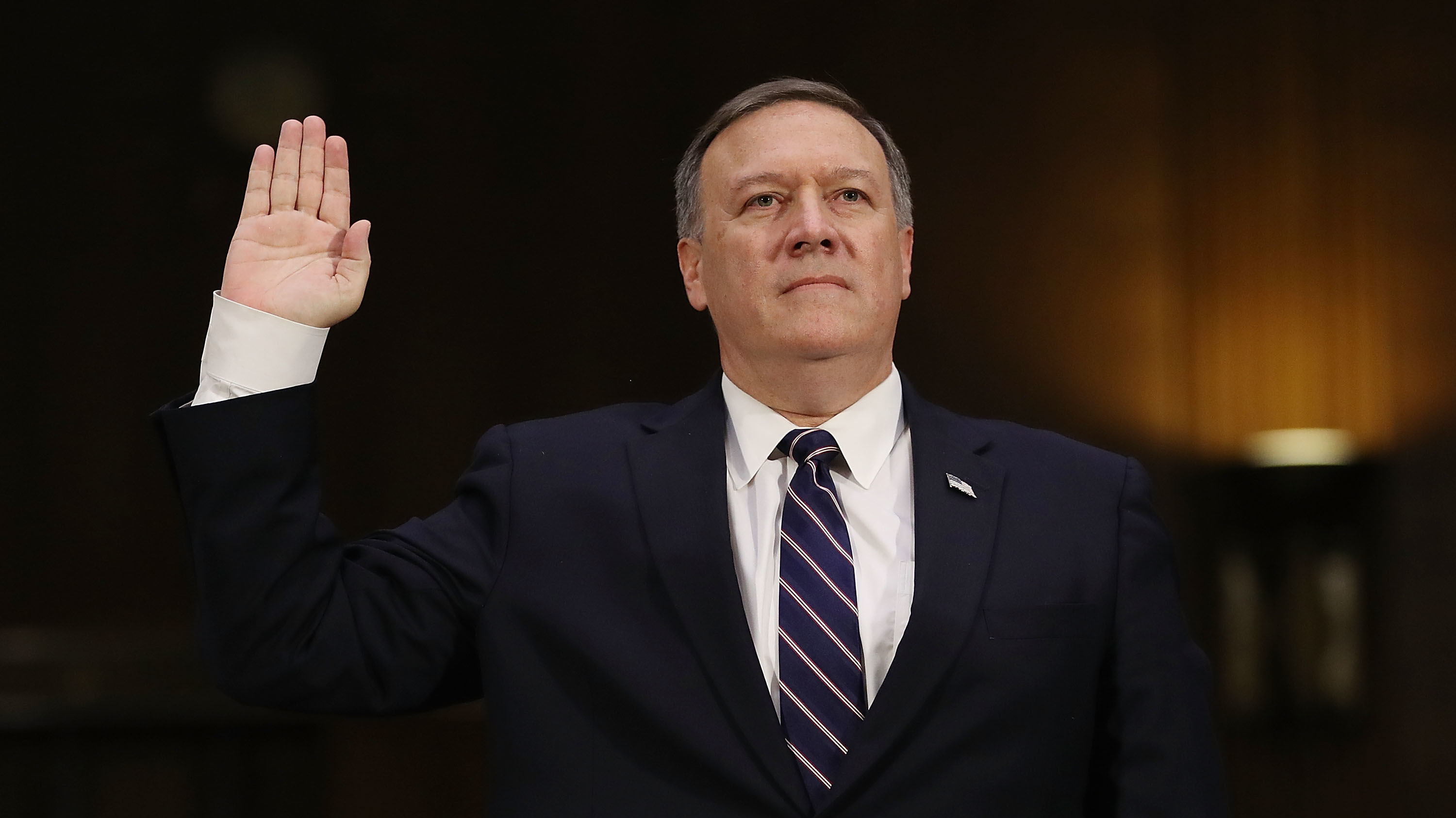 Opinion: Did Secretary Pompeo Forget His West Point Pledge?