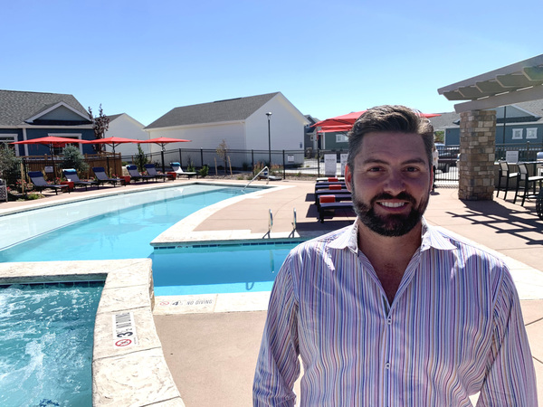 Josh Hartmann, the CEO of NexMetro Communities, says he started developing houses for rent after the housing crash.