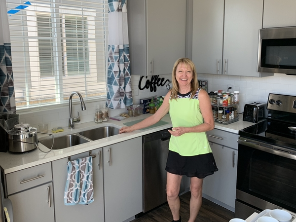 """""""I wanted the house feel but not the house payment and not the commitment of a 30-year mortgage,"""" Lou Ann Erwin says."""