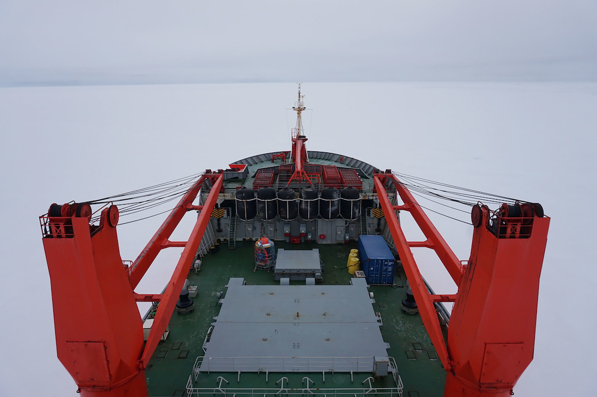 Researchers Are Freezing Their Ship Into Arctic Ice To Study Climate Change