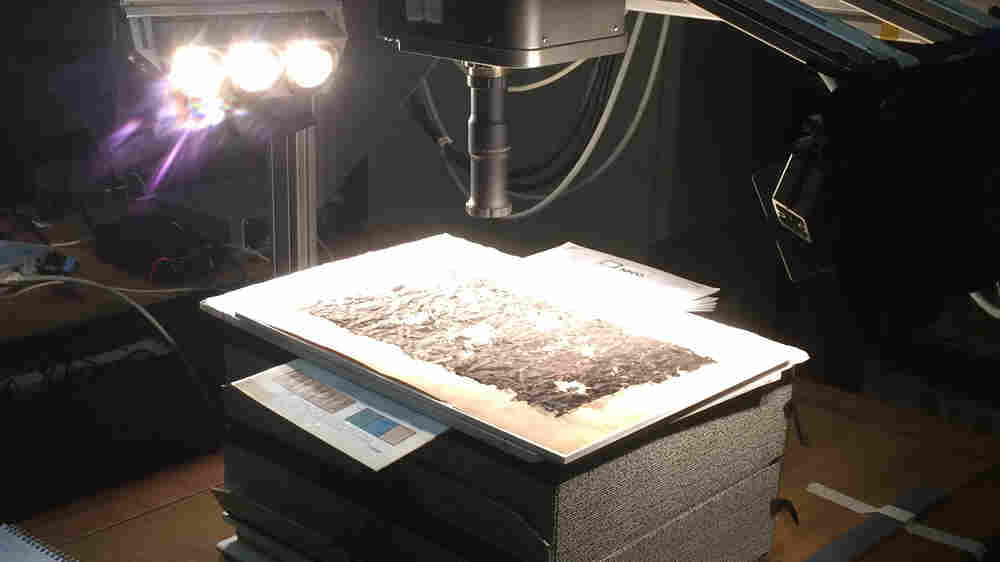 Ancient Greek Scroll's Hidden Contents Revealed Through Infrared Imaging