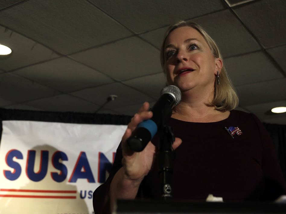 Rep. Susan Wild, D-Pa., won her House seat by a razor-thin margin in 2018. Her support for an impeachment inquiry risks alienating voters in a closely divided swing district. (Jacqueline Larma/AP)