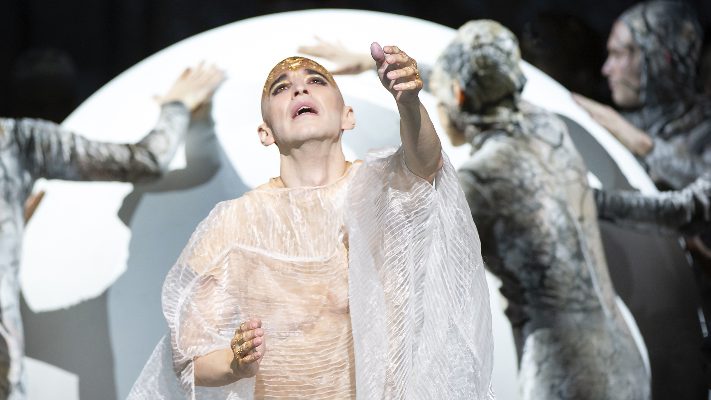 After Nearly Losing His Voice To Cancer, Anthony Roth Costanzo Takes On 'Akhnaten'