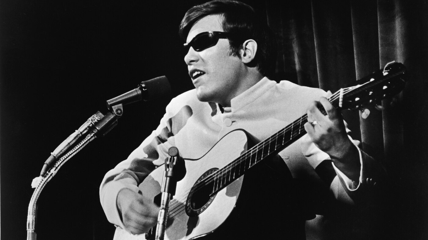 The Story Of José Feliciano's World Series Guitar : NPR