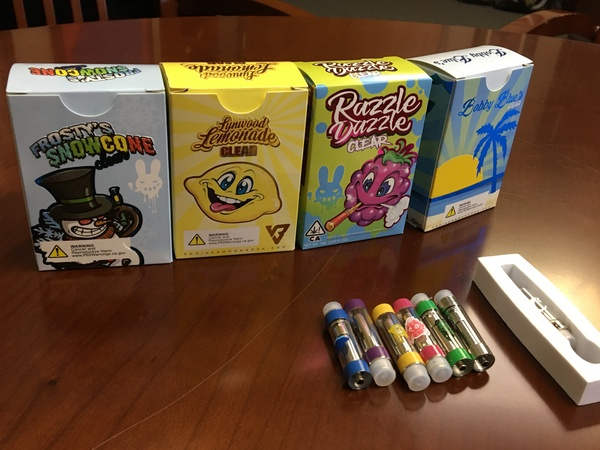 Some of the items confiscated in the Bristol, Wis., drug bust.