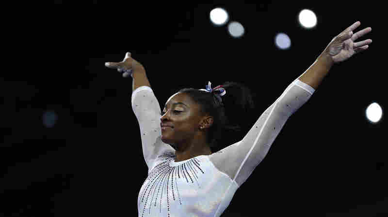 Simone Biles Wins Fifth All-Around World Championship Medal