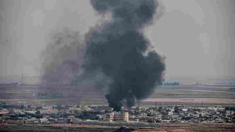 Pentagon Says U.S. Troop Position In Syria Came Under Fire From Turkish Incursion