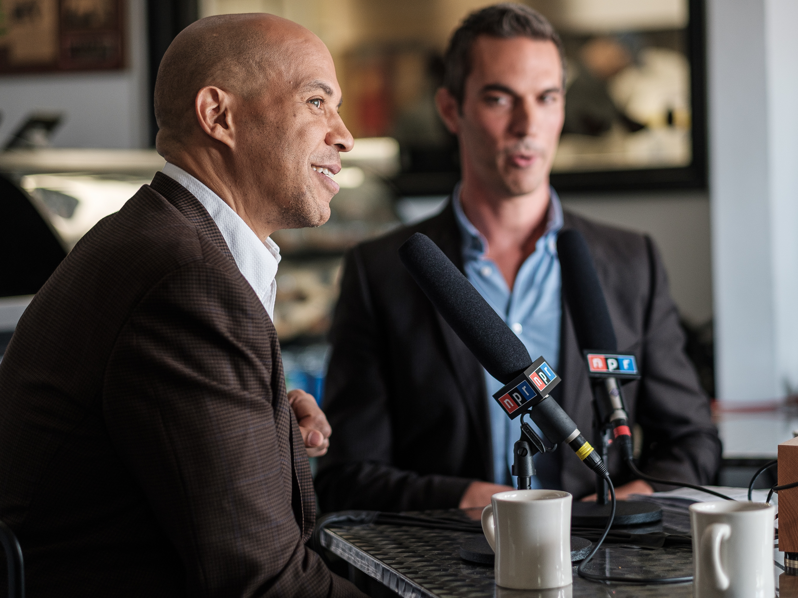 Cory Booker Asked About Struggles With Black Voters: 'Let My Work Speak For Me'