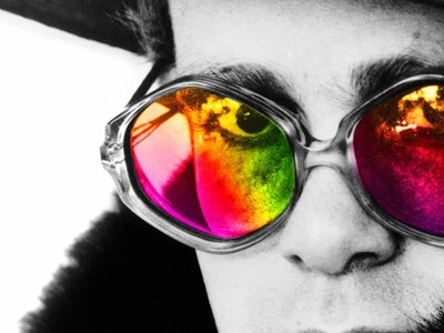 In 'Me,' Elton John Pulls Back The Curtain On A Storied Life