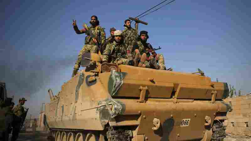 Endangered By Turkish Offensive, U.S. Troops Prepare To Evacuate From Syria