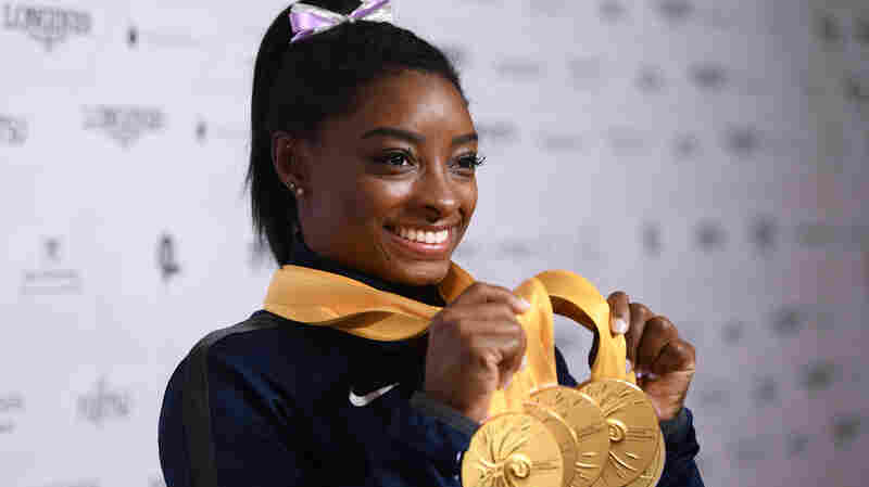 Simone Biles Becomes The Most Decorated Gymnast In World Championship History