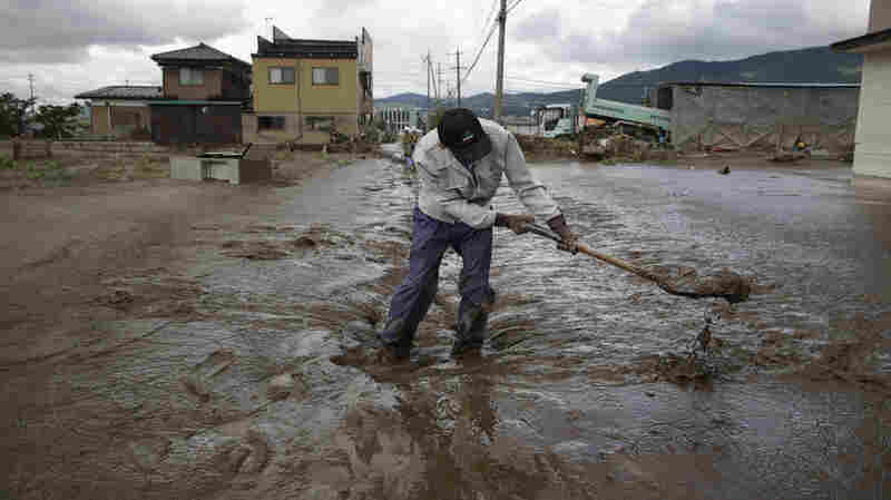 Japan Draws On Emergency Fund To Pay For Aftermath Of Typhoon