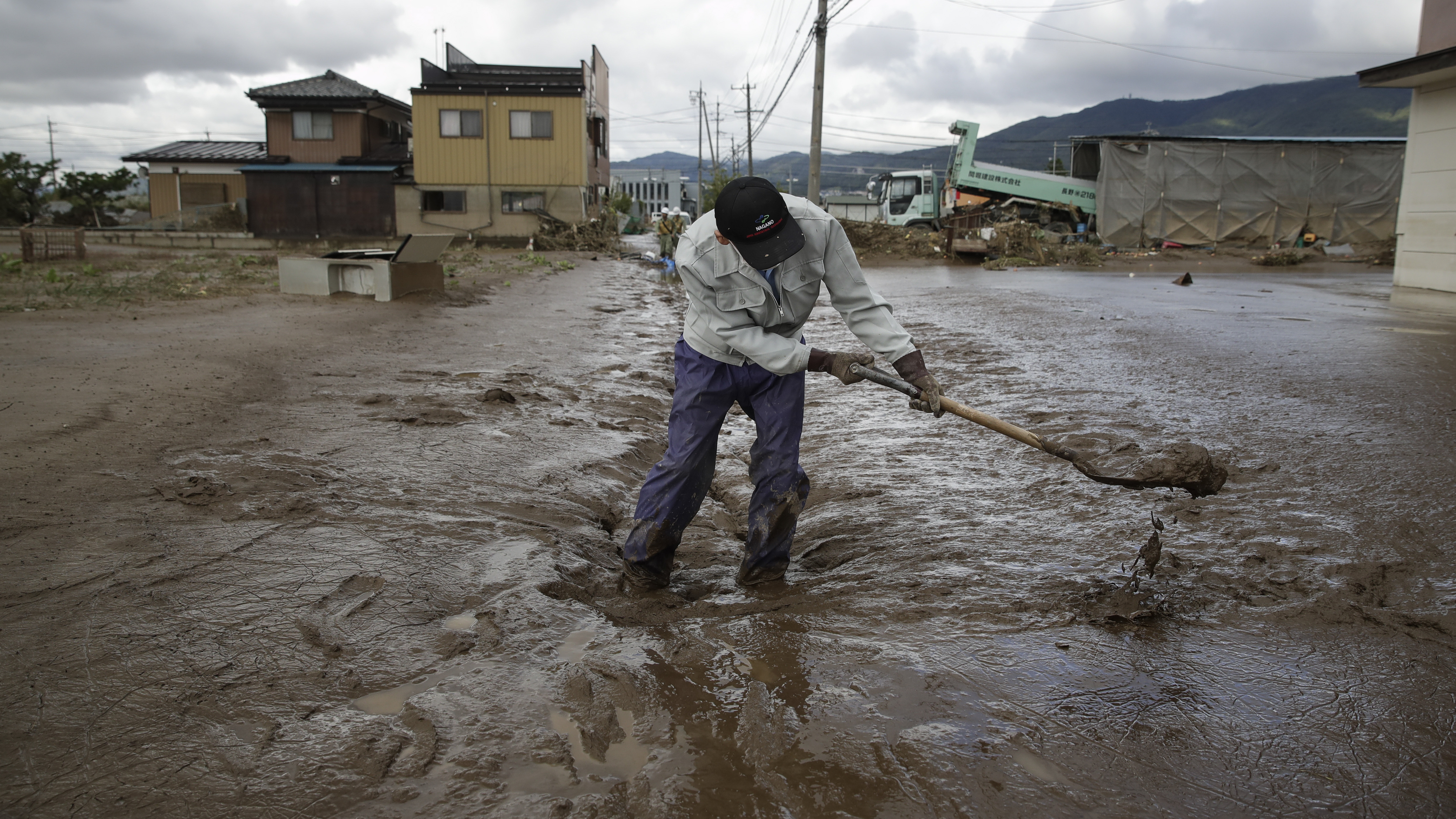Japan's Prime Minister Warns Of 'Prolonged' Effects Of Typhoon Hagibis' Destruction