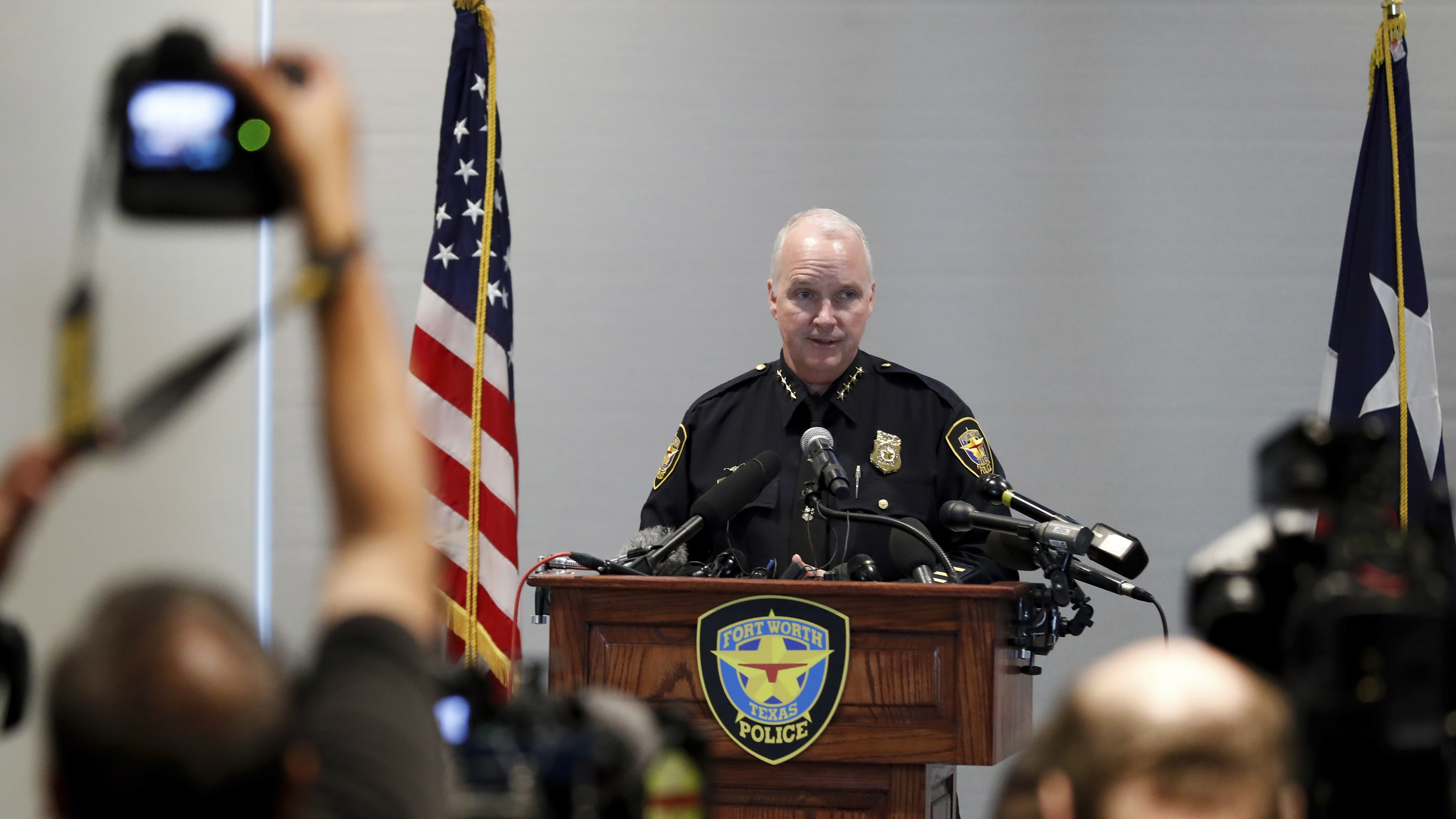 Fort Worth Interim Police Chief 'Deeply Sorry' For Fatal Shooting