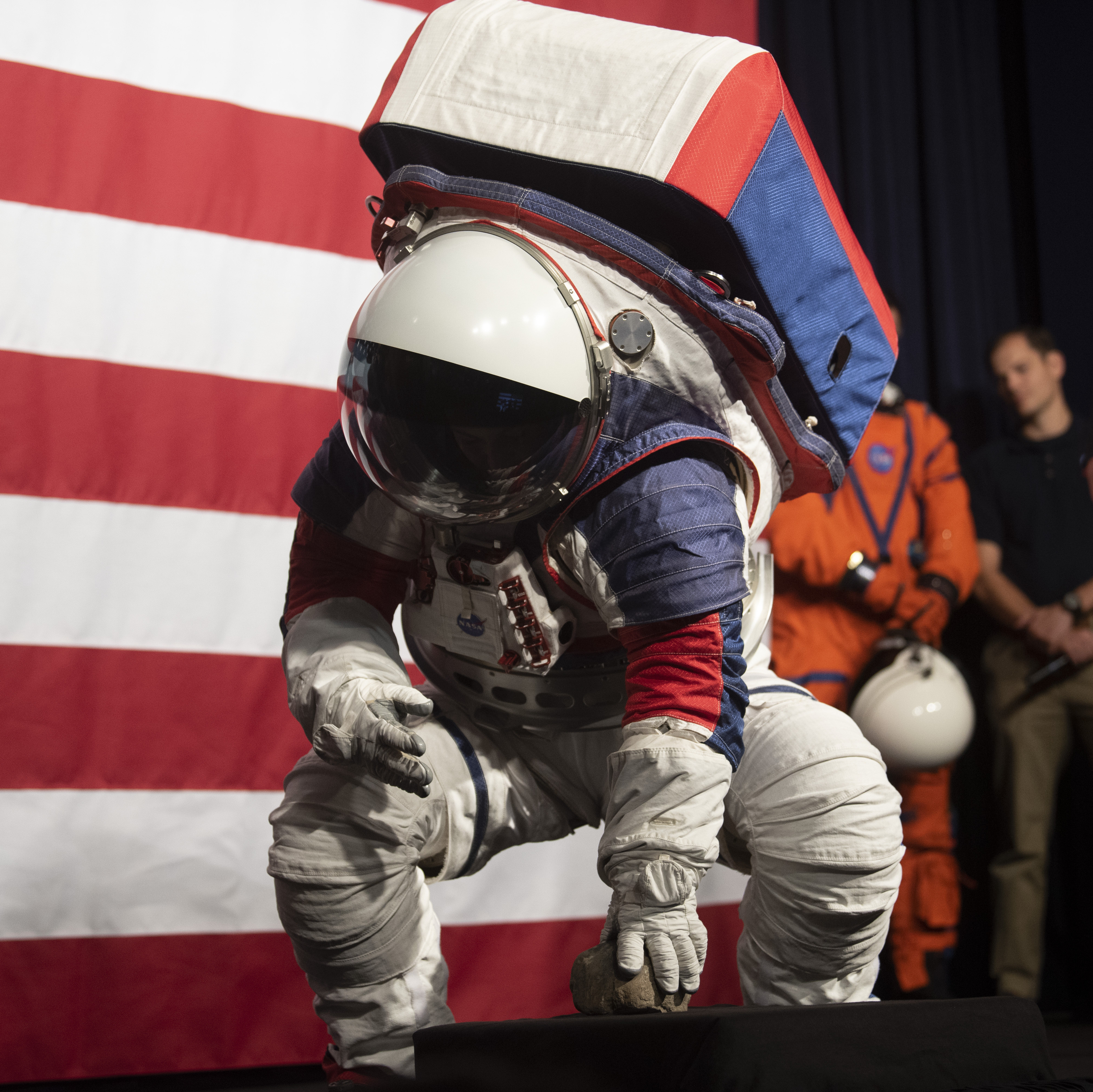 For NASA's New Suits, 'Mobility' Is The Watchword