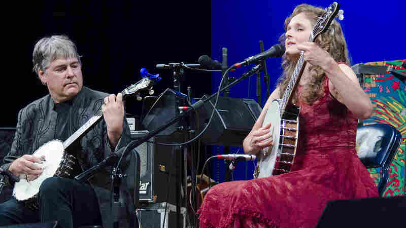 Bela Fleck & Abigail Washburn On Mountain Stage