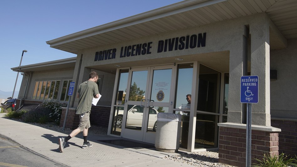 The Census Bureau is turning to existing government records, such as state driver's licenses, to produce data about the U.S. citizenship status of every person living in the country. (George Frey/Getty Images)