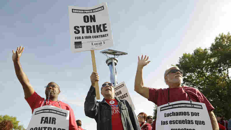 Chicago Teachers Will Go On Strike, Capping Years Of Social Justice Activism