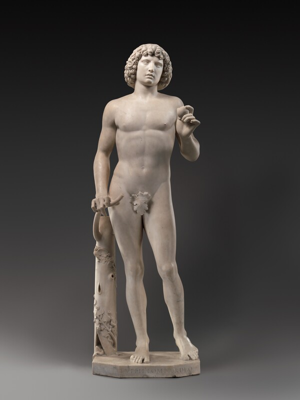This sculpture of Adam, made by Tullio Lombardo in the late 15th century, fell and broke into several pieces when its pedestal collapsed in 2002. It has since been completely restored.