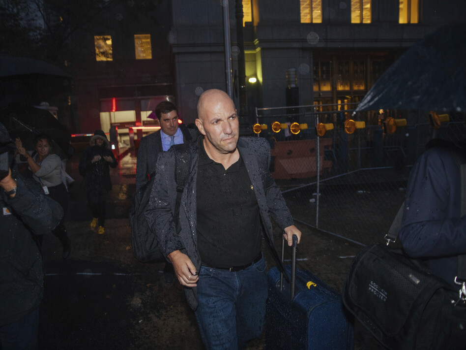 David Correia appeared briefly in U.S. District Court in Manhattan on Wednesday and was released on $250,000 bond. (Kevin Hagen/AP)