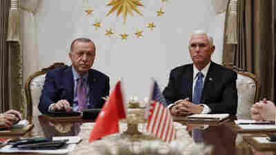 Pence Says Turkey Has Agreed To Suspend Its Incursion Into Syria