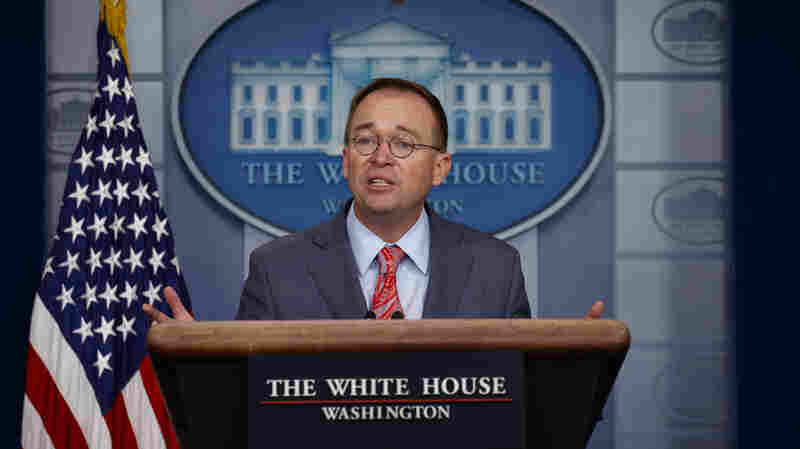 'Get Over It': Politics Is Part Of Foreign Policy, Mulvaney Says