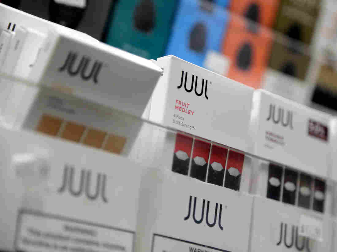 Juul stops sale of fruity, dessert-flavored e-cigarettes