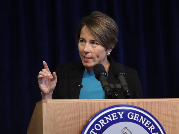 Massachusetts Attorney General Maura Healey is one of many Democratic attorneys general to reject the Purdue Pharma settlement.