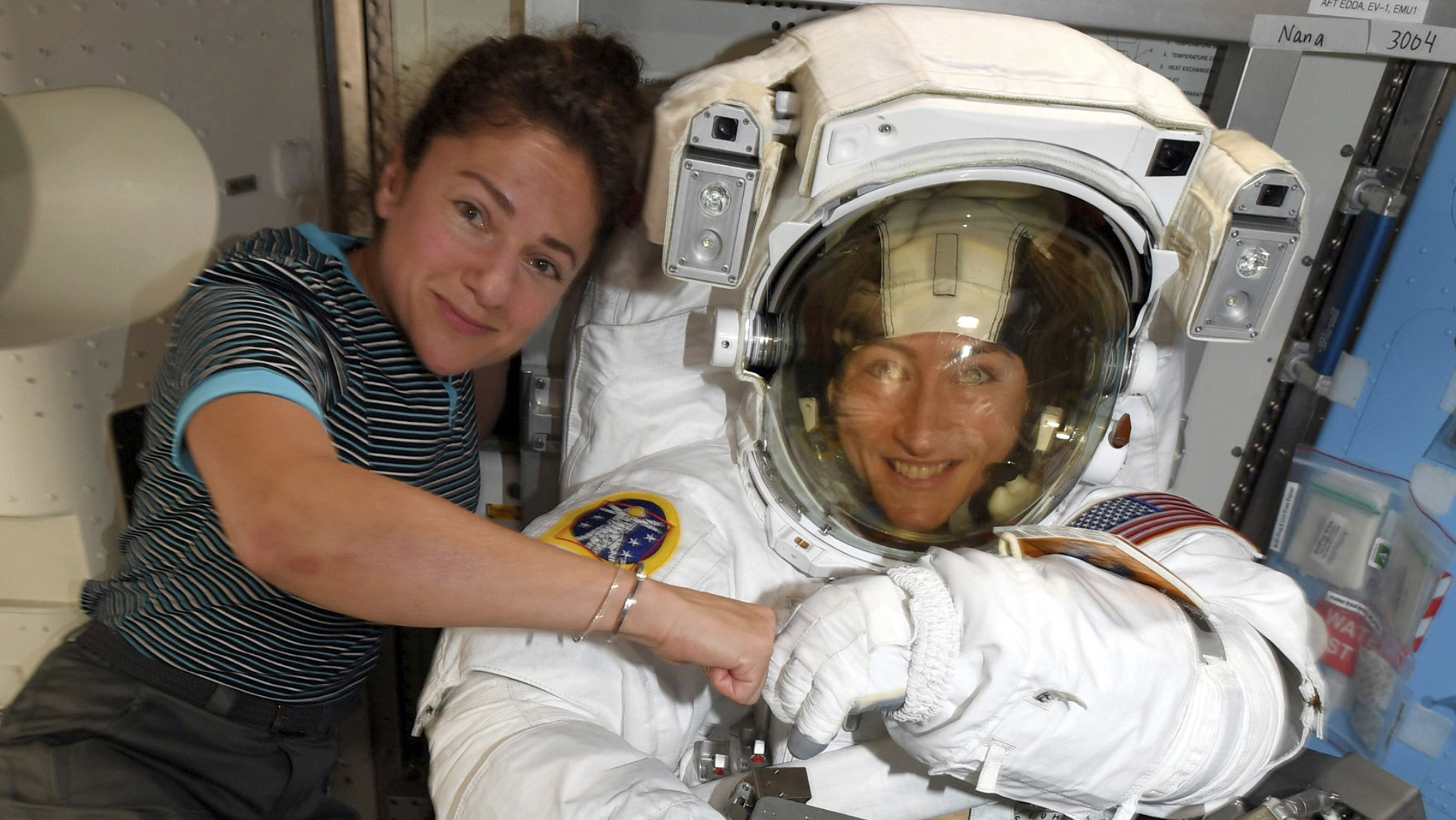 Finally, An All-Female Spacewalk
