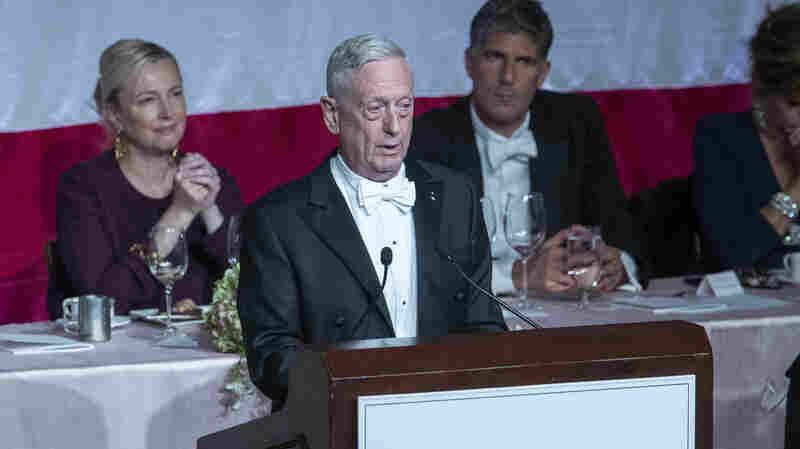 Mattis Takes Swipe At Trump: 'I Earned My Spurs On The Battlefield'