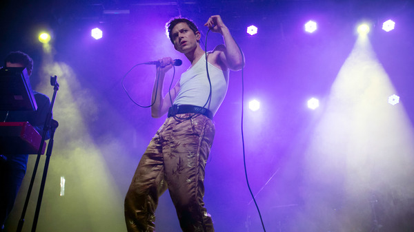 Mike Hadreas of Perfume Genius performs in 2017 in Dublin, Ireland. (Photo by Kieran Frost/Redferns)