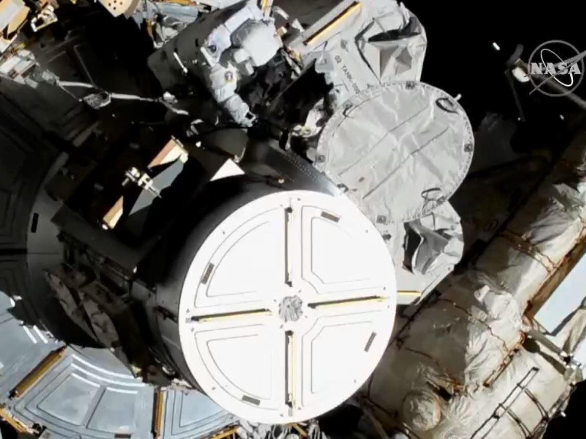 WATCH: 2 American Women Astronauts Venture Out For First All-Female Spacewalk