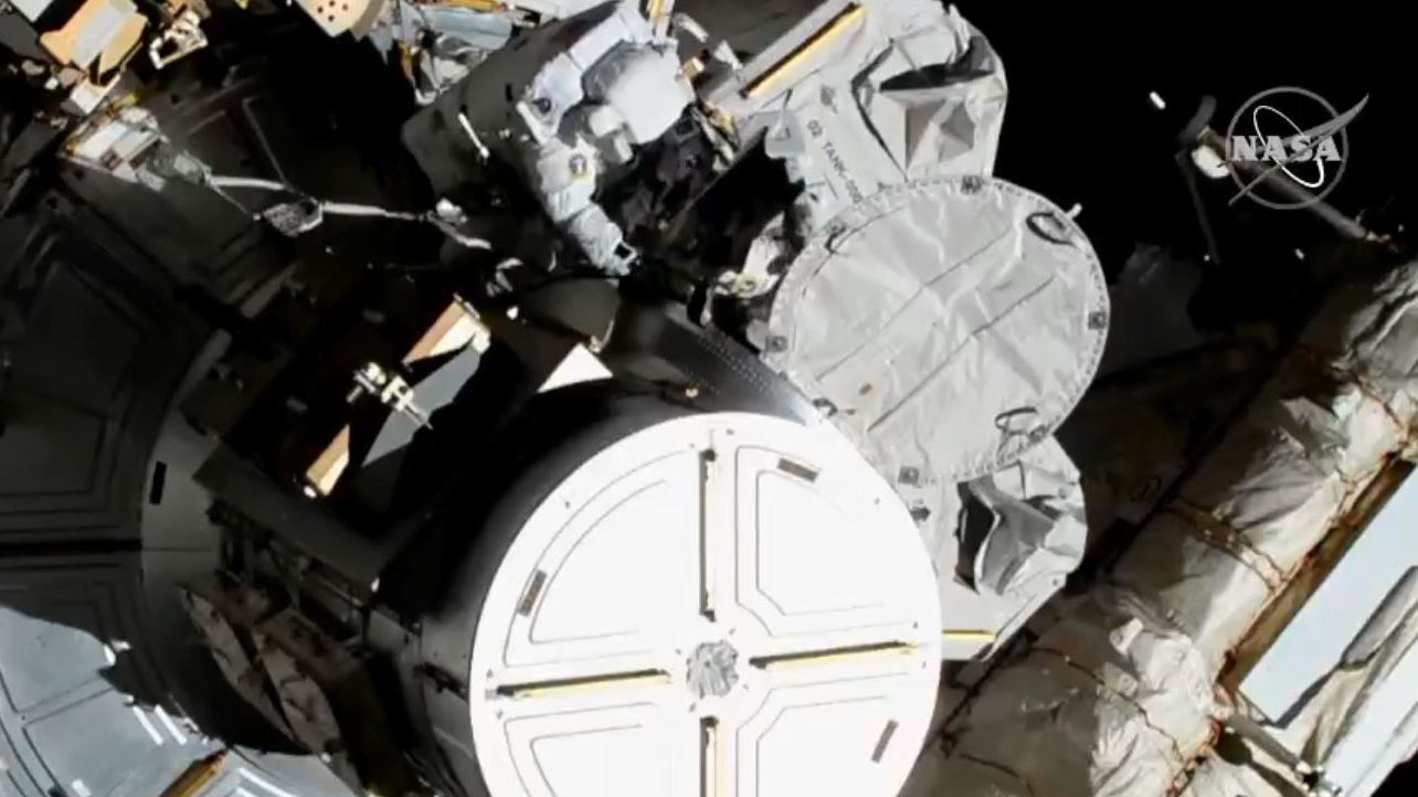 npr.org - Scott Neuman - 2 American Women Astronauts Venture Out For First All-Female Spacewalk