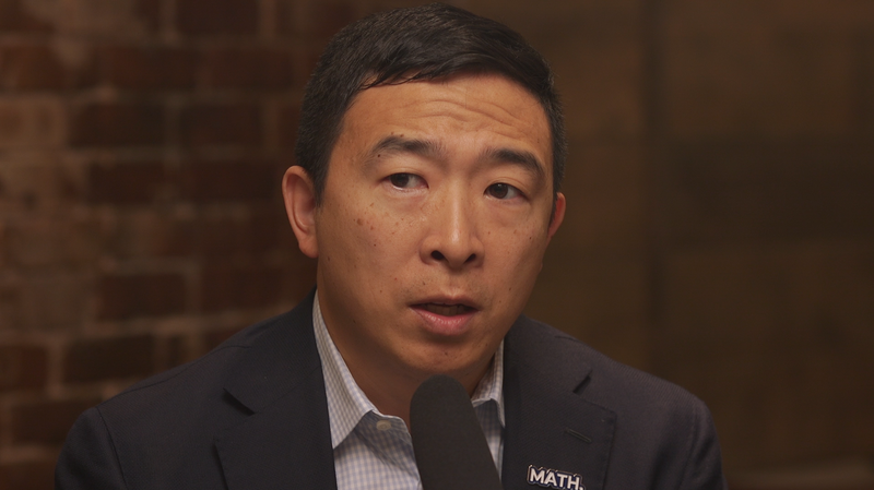 Andrew Yang Says There Is No Guarantee Impeaching Trump Will Be Successful