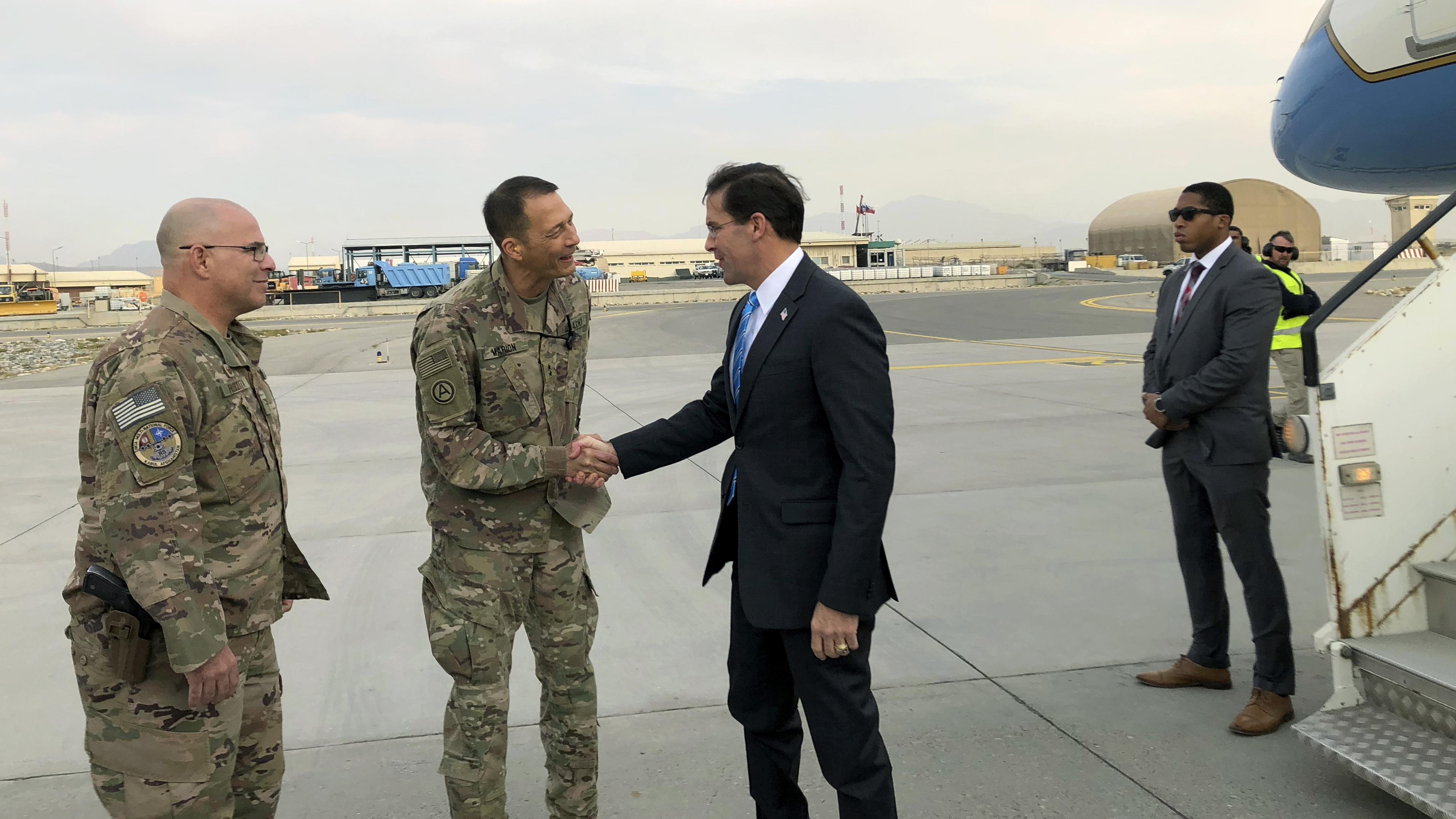 Defense Secretary Esper Arrives In Afghanistan To Devise A Way Forward In 18-Year War