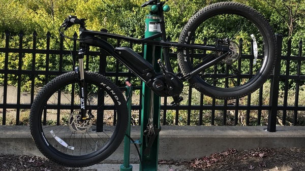 An e-bike resembles a regular bicycle, with its batteries and electric motor integrated into the bike