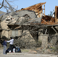 A Tornado Struck Overnight. Now Dallas Is Assessing The Damage